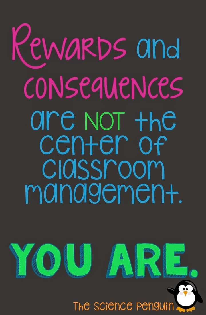 The Science Penguin: Classroom Management: It's All About the Attitude