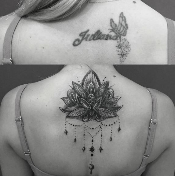 Cover Up Tattoos Neck Tattoo Cover Up Cover Up Tattoos Back Of Neck Tattoo
