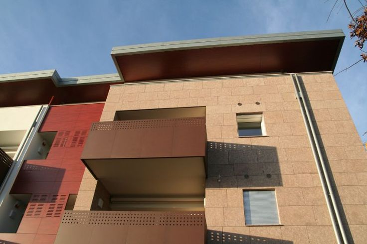 Residence Althea (Ponzano Veneto - Treviso) - facciata esterna