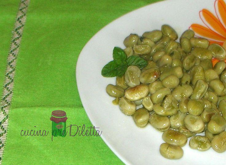 #Fave fresche saporite / #ricetta contorno   @CucinapreDiletta