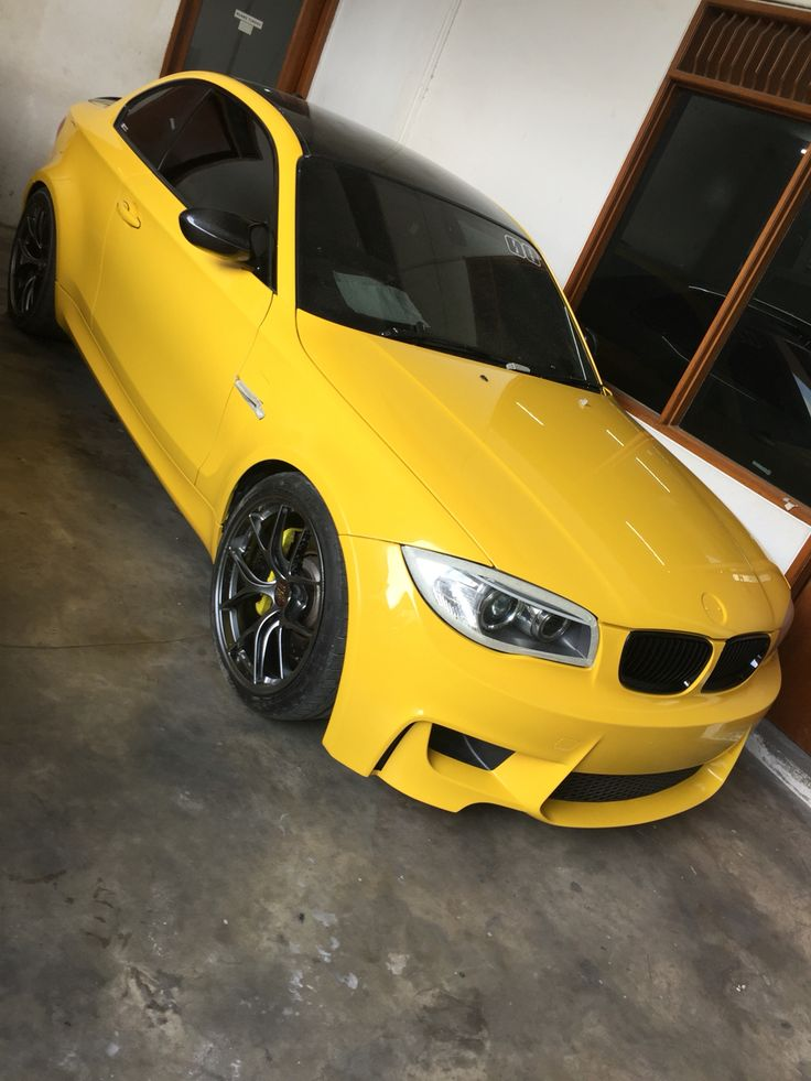 1M Giallo Modena with BBS RID by HERO