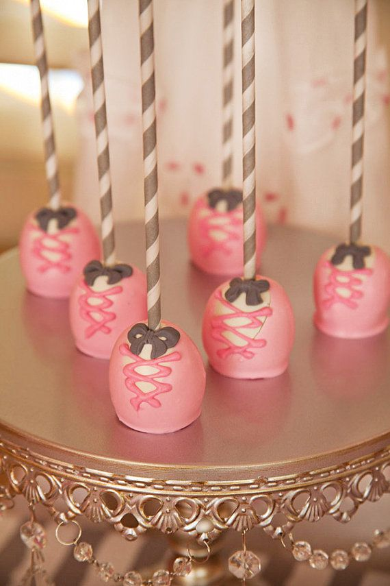 Pink Ballerina Cake Pops By Know An Ordinary Mom