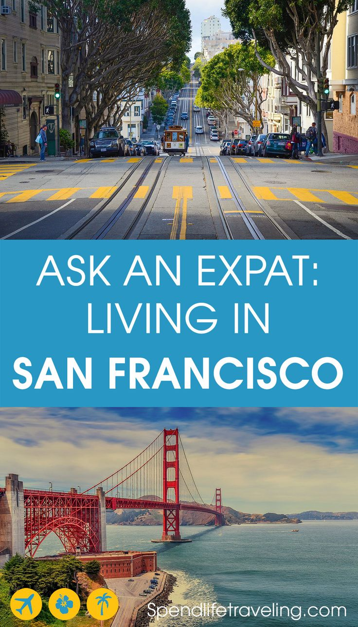 What is expat life in San Francisco like?   San Francisco is an incredible city and a popular place for exapts to move to. But what is life in San Francisco really like? In this expat interview Katherine shares her experiences moving to and living in San Francisco as an expat. #sanfrancisco #expat #expatlife #liveabroad #moveabroad