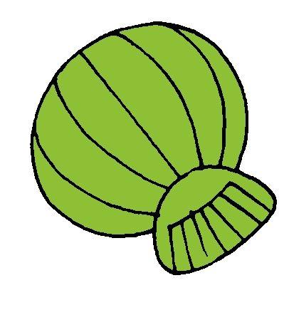 Groene schelp van kleurenspel
