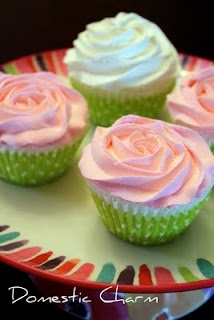 This is such a cute idea!!! It is fake cupcakes to make for decorations :)