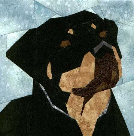 Silver Linings Canine Corner Rottweiler Quilts