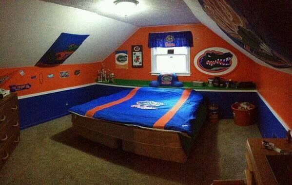 Florida Gator Bedroom