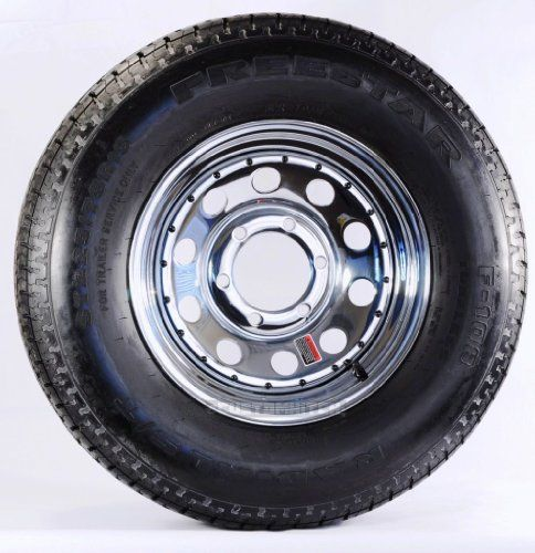 how to put a trailer tire on a rim