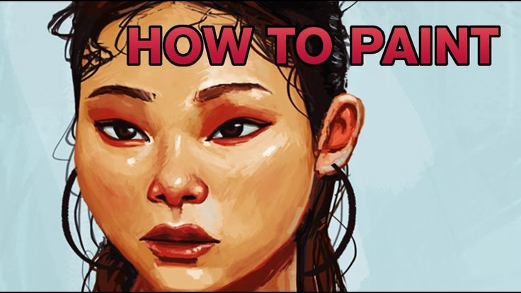 Digital Portrait Drawing - Photoshop Timelapse  #art #painting #drawing #illustration #how #to #paint #tutorial #youtube #video #artist #tablet #tips #tricks #timelapse #progress