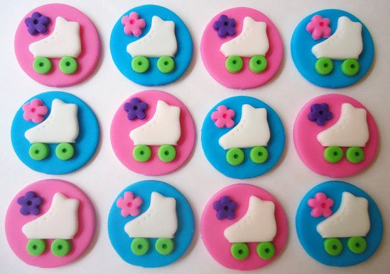 1000 ideas about roller skate cake on pinterest disco for Angelina ballerina edible cake topper decoration sale