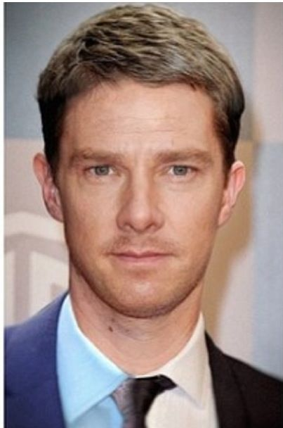 Benedict cumberbatch and Martin freeman- combined. Haha ...