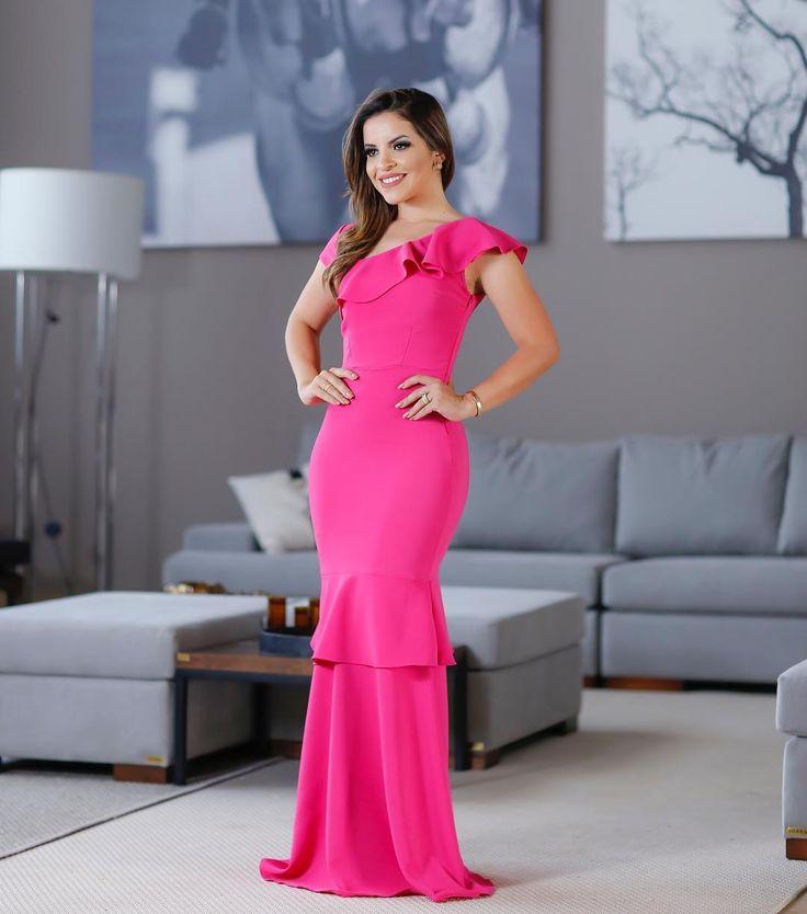 Mejores Más de 50 imágenes de longos en Pinterest | Vestidos bonitos ...