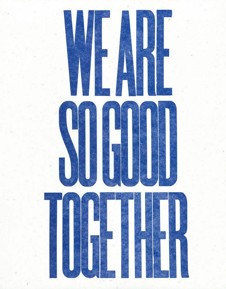 We Are So Good Together (blue), by Dylan Fareed - 20x200 (from $24)