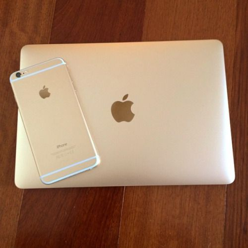 gold macbook tumblr - Google Search