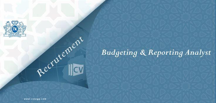 #Philip #Morris #International: #Emploi de #Budgeting & #Reporting #Analyst à #Casa---->