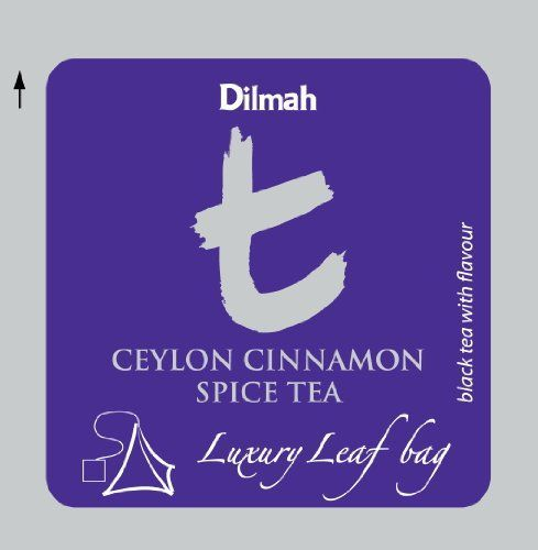 Dilmah, T-series, Ceylon Cinnamon Spice Tea, Foodservice Pack, Biodegradable Luxury Leaf Sachets in Foil Envelopes, 100 Pyramid Sachets -- Visit the image link more details.