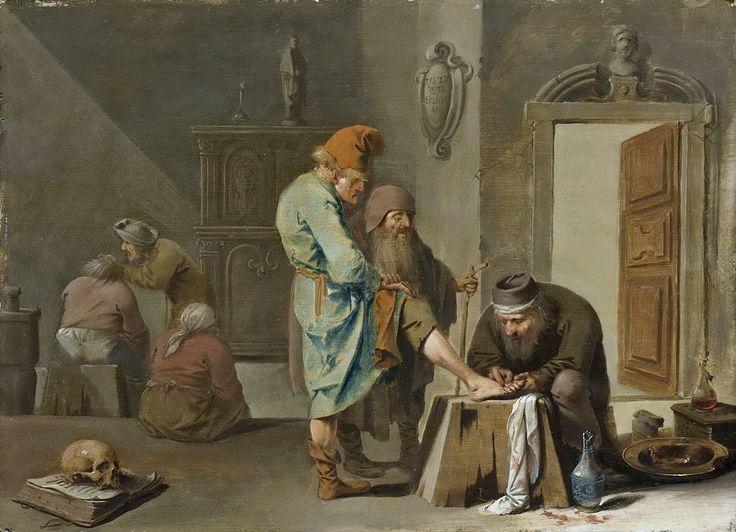 Pieter Quast - Foot Surgery [1630-47] #17th #Classic # ...