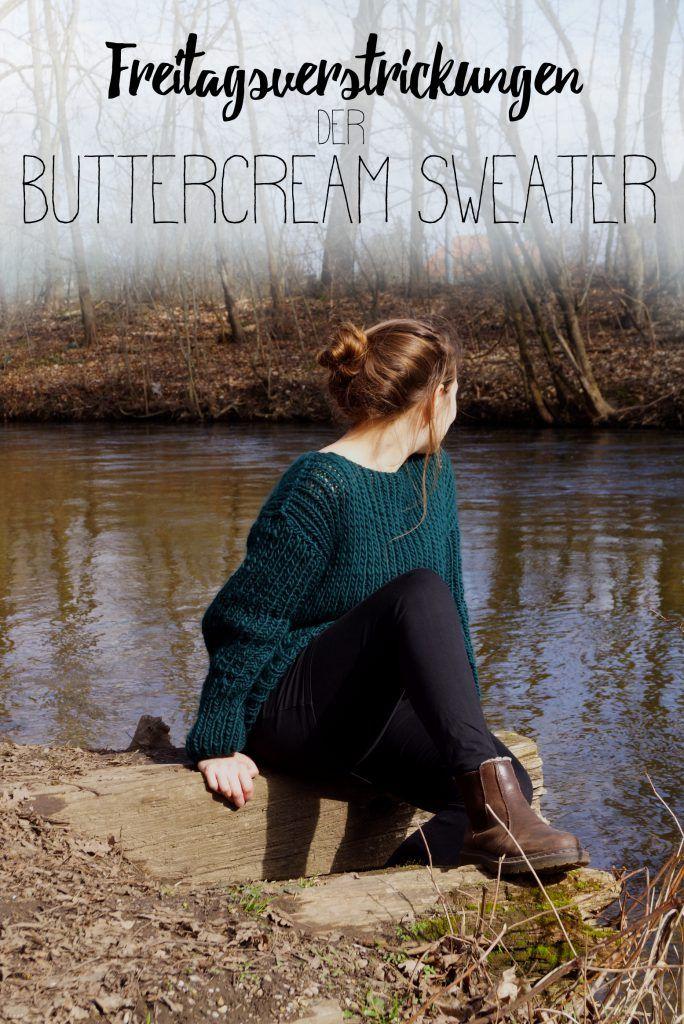 Ausprobiert: Der Buttercream Sweater von We are Knitters in Waldgrün