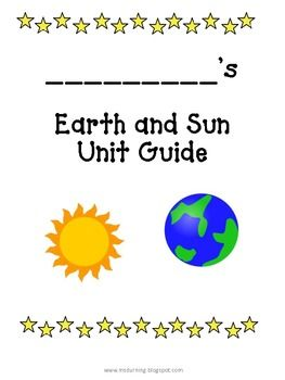 Small unit guide to go along with a Sun and Earth Unit.  I teach about the Sun and Earth before I head into the Solar System. If you're looking for something a little more thorough, you can check out my Solar System Unit. http://www.teacherspayteachers.com/Product/Solar-System-Science-Unit-K-3