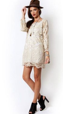 Organisation Dress BUYNOW  #springstyle #lacedress #bohemian #bohostyle #style