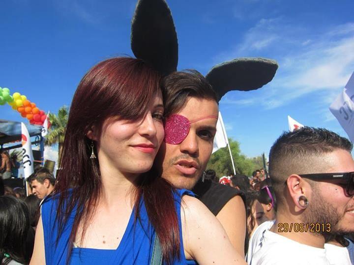 Andrea Ibba Monni and Giulia Maoddi at #Pride #Sardegna #FeraiTeatro