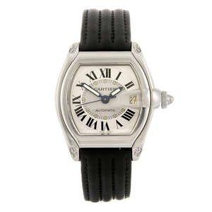 Lot: 15 CARTIER - a Roadster wrist watch. Estimate GBP: £500 - £700