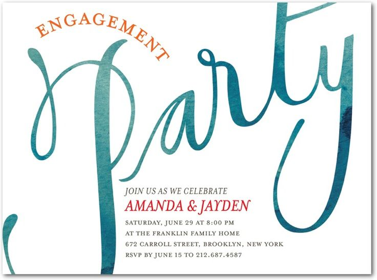18 best Favorite Places \ Spaces images on Pinterest Engagement - how to word engagement party invitations