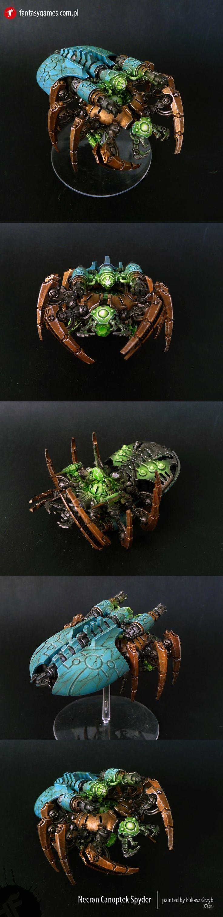 40k - Necron Canoptek Spyder by fantasygames.com.pl