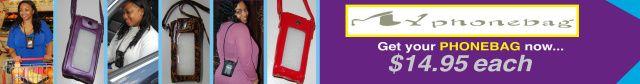 MYphonebag - Hands Free Phone Bag ADDITIONAL 10% CHRISTMAS SAVINGS (Enter Code Bonus13 at Checkout): http://www.myphonebagonline.com/index.html