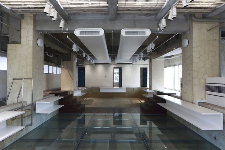 the pool concept store by hiroshi fujiwara & nobuo araki / tokyo