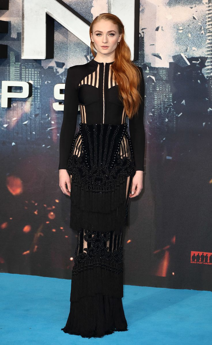 Sophie Turner Was the Last Star You Were Expecting to Join the Balmain Army
