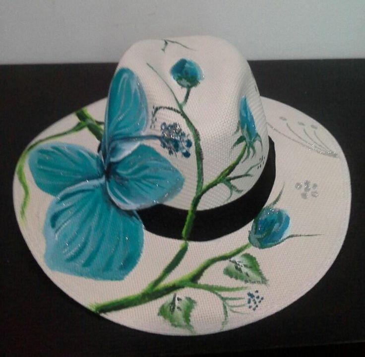 Kết quả hình ảnh cho sombreros PINTADOS A MANO DE CARNAVAL
