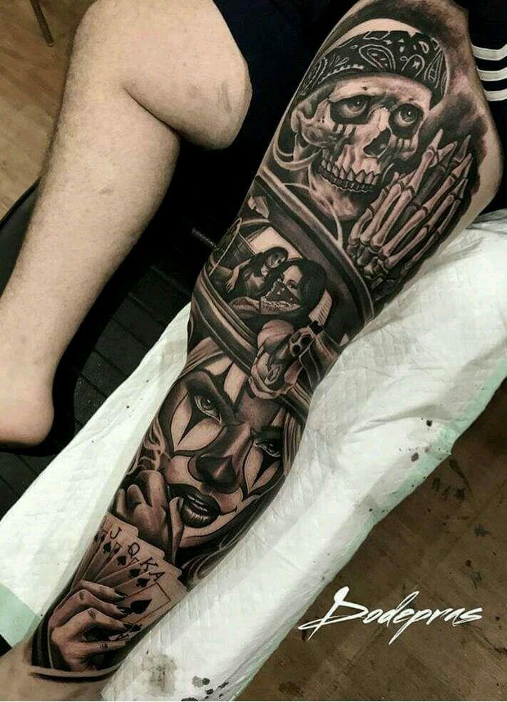 Pin De Paulo Fabricio Em Jjj Com Imagens Tatuagem Na Perna