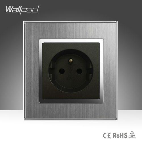 $8.93 (Buy here: https://alitems.com/g/1e8d114494ebda23ff8b16525dc3e8/?i=5&ulp=https%3A%2F%2Fwww.aliexpress.com%2Fitem%2FNew-Arrival-French-Socket-Wallpad-Hotel-110-220V-Silver-Satin-Metal-Panel-EU-French-Wall-Socket%2F32793868128.html ) New Arrival French Socket Wallpad Hotel 110-220V Silver Satin Metal Panel EU French Wall Socket Free Shipping for just $8.93