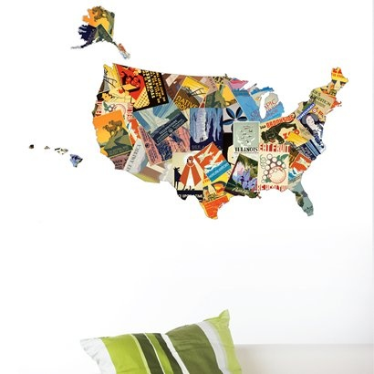 Best Creative Interesting USA Maps Images On Pinterest - Map usa