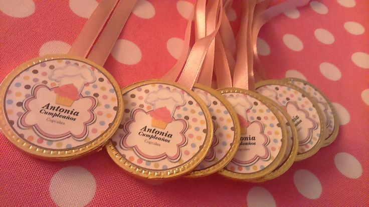 Medallas de Chocolate