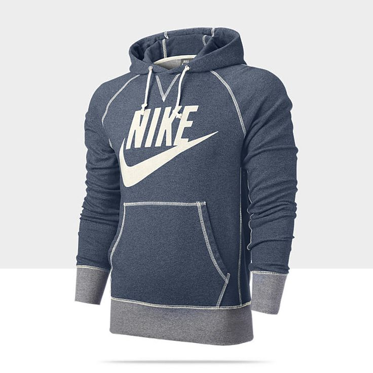 Nike Vintage Marled Logo Men's Hoodie. This item is what i would consider a workout jacket. the material is most likely dri-fit.