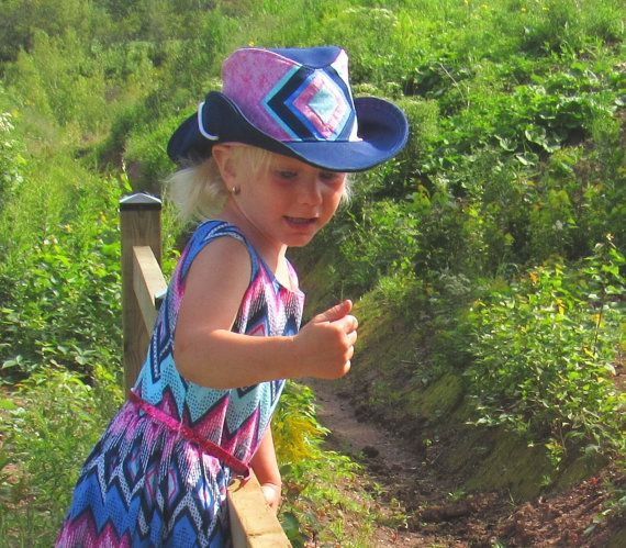 Evelune Cowboy hat sewing pattern