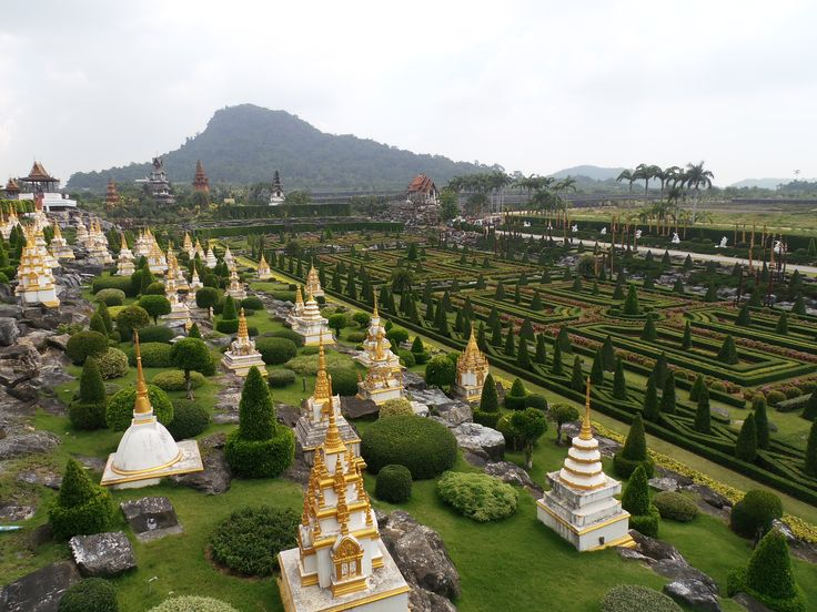 Nong Nooch Garden at Chonburi in Thailand