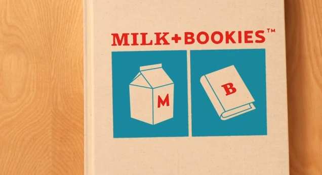 have everyone bring a book and serve milk and cookies! how fun for a child's bday party!