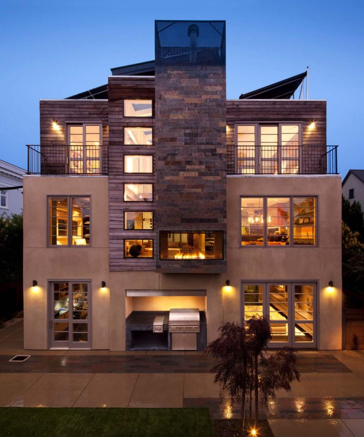 2850 best contemporary homes images on pinterest for Modern house 48