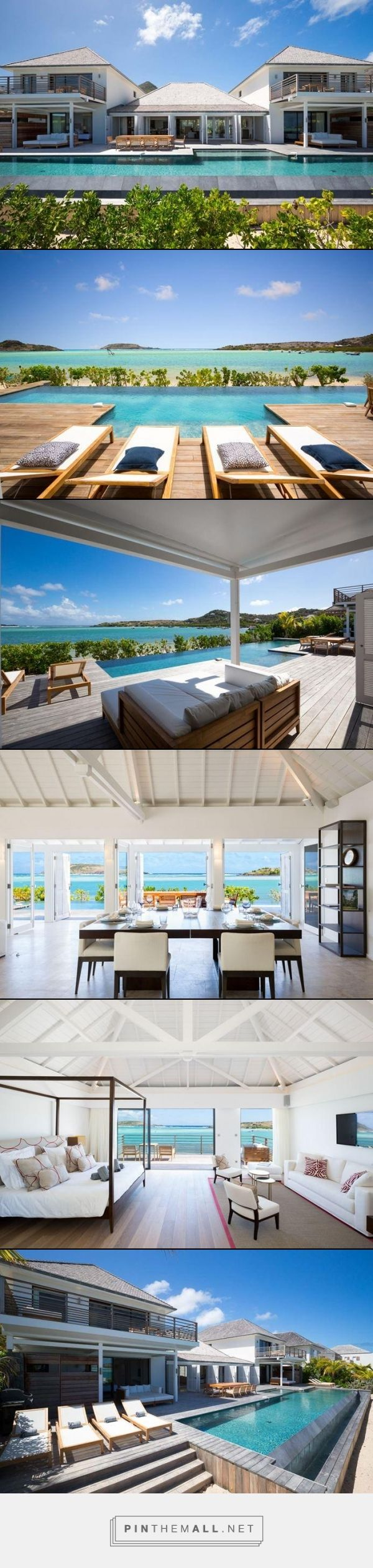 203 best St. Barths Villas images on Pinterest | Mansions, Villa and Carribean Luxury Home Designs S E A on