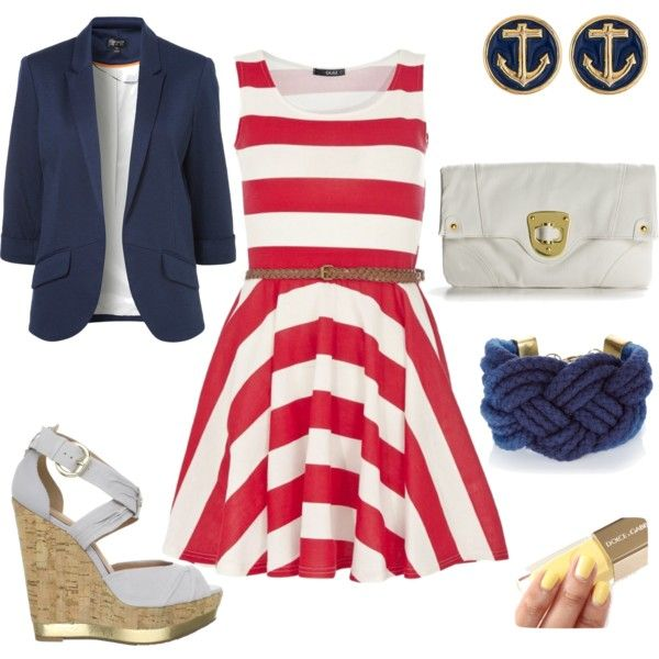 4th of july themed dress
