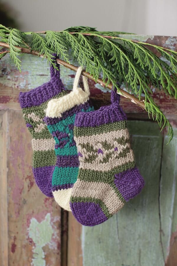 1000 Images About Small Knit Stocking On Pinterest