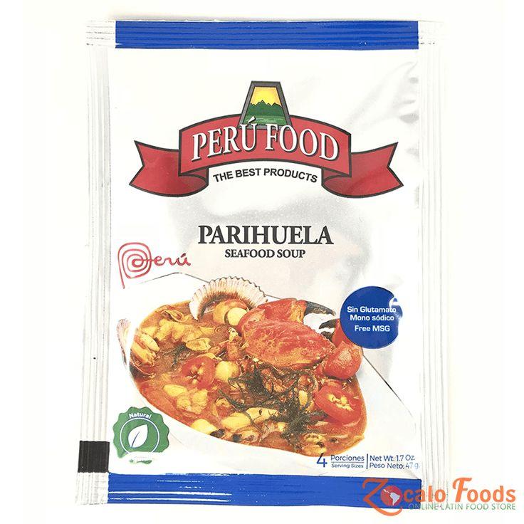 Peru Food Parihuela Seafood Soup 1.7 oz