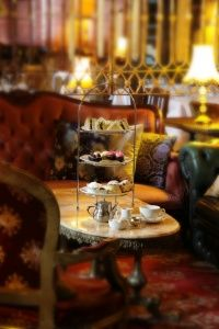 High Tea | The Victoria Room. Classy.