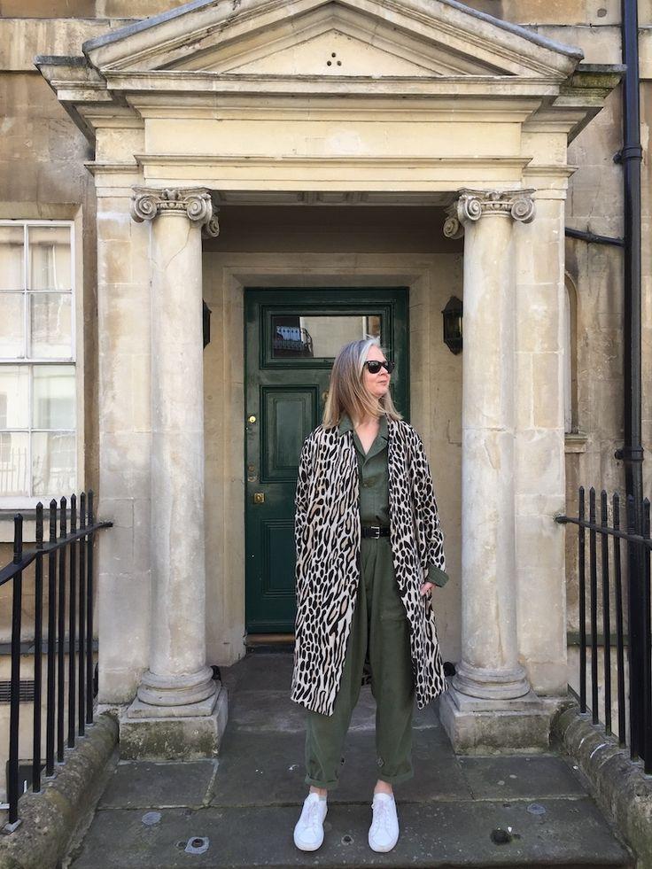 Found a new (vintage) leopard print coat