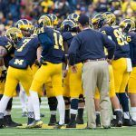 The updated spread from the SuperBook in Vegas has the Michigan Wolverines at +4.5 versus the  Ohio State Buckeyes. The line on this game has been all of the place and opened Buckeyes -6 over the Wolverines and has been as high as -10 over the season. Below you will find updated odds on College Football Games of the Year, 2016 Heisman Trophy Odds and 2017 College Football Championship Odds from the Westgate Las Vegas SuperBook.