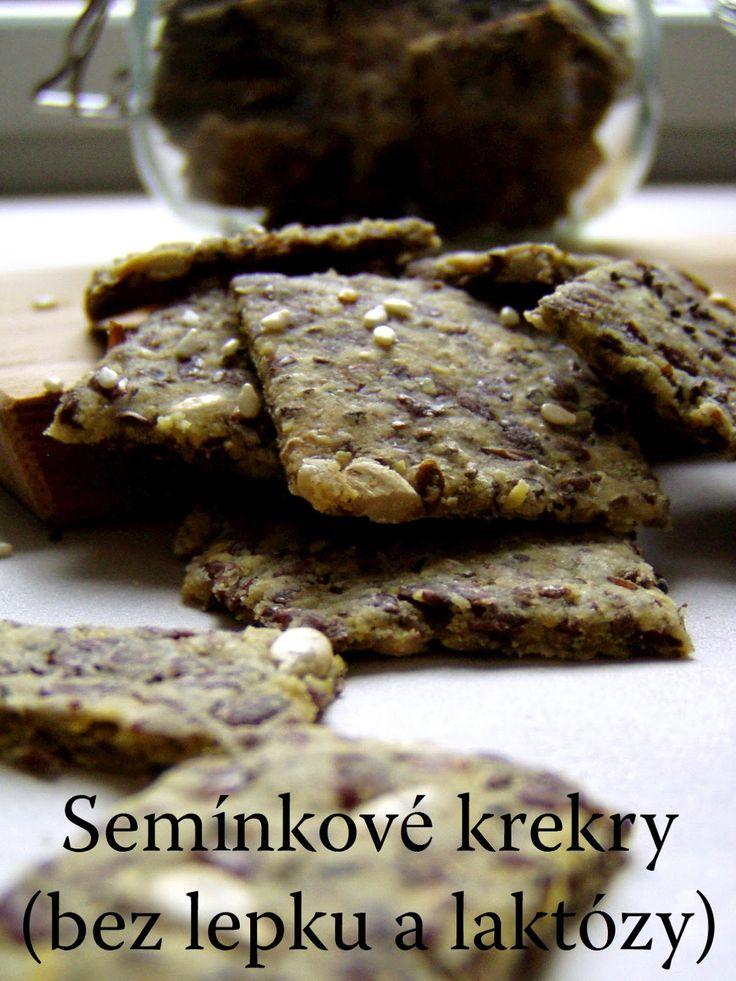 TynaTyna: Semínkové krekry (bez lepku a laktózy)