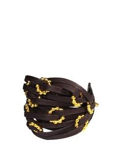 Kahverengi/Altın Rengi Bileklik